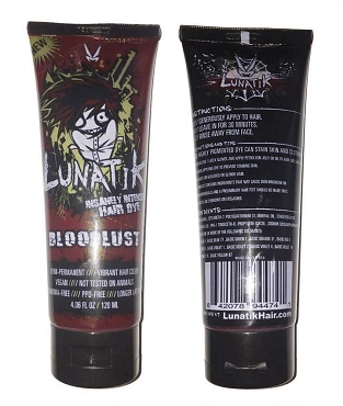 LUNATIK HAIR DYE BLOODLUST BRIGHT RED
